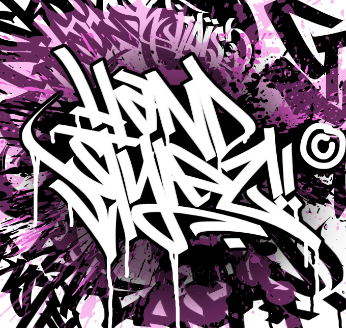 Write my name in graffiti online