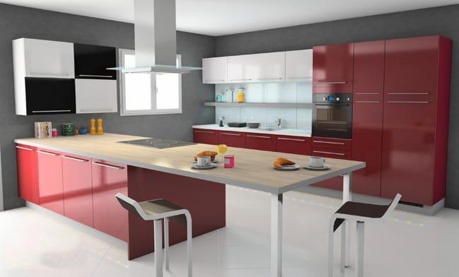 design 3d kitchen design by ivosb2012. Black Bedroom Furniture Sets. Home Design Ideas