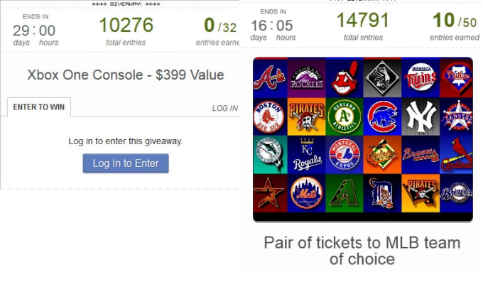 launch your rafflecopter giveaway and promote it