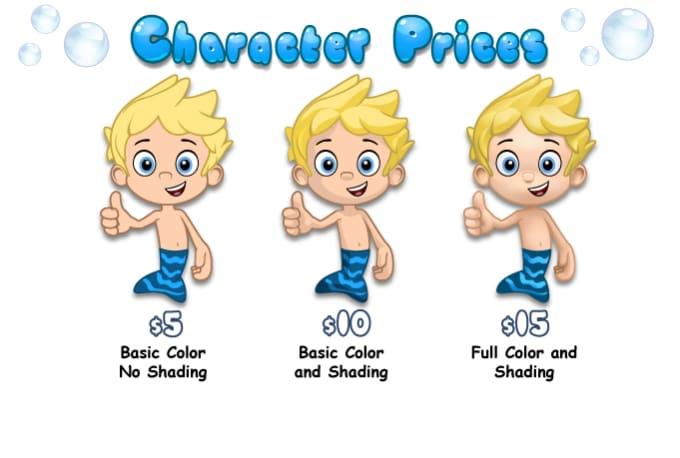Guppy Cartoon Character | lairfan org