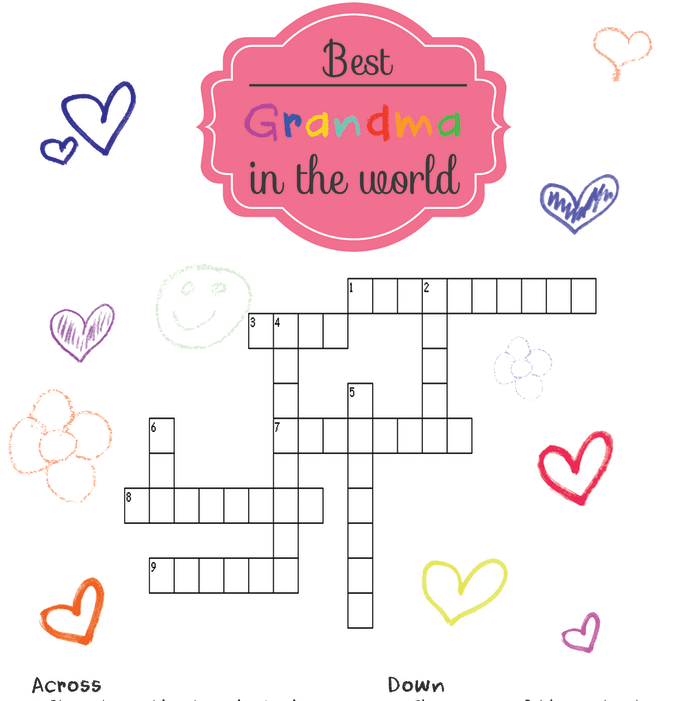 how to create a crossword puzzle in word