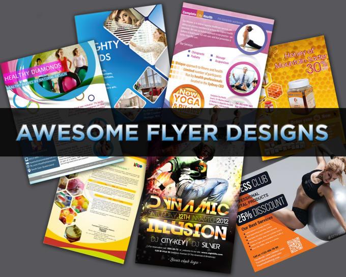 do flyer poster eflyer leaflet folder brochure design by raveendrawm