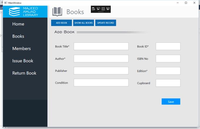 design interface in XAML