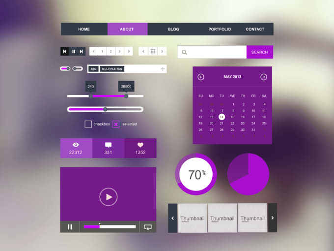 ui design web pages and mockups for your website