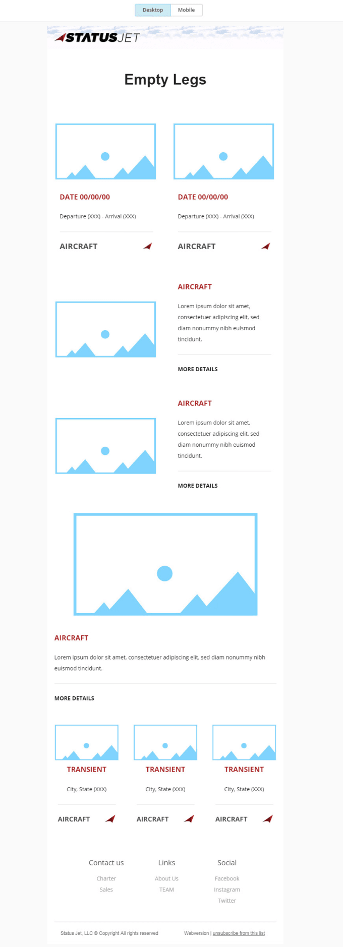 Mailchimp Editable Template Or Newsletter Fiverr - Mailchimp template variables