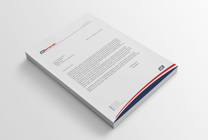 design professional letterhead in ms word file by arif 795