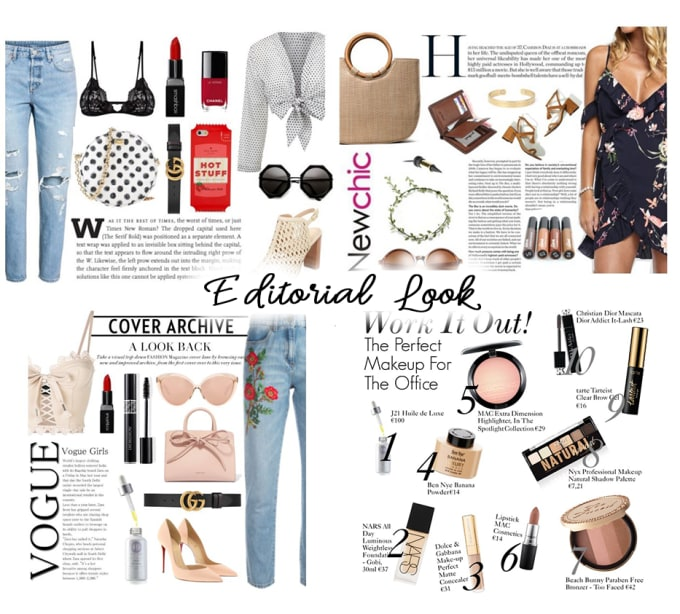 4d0ec6a8e1 Create 5 professional polyvore sets for your store by Moonlightangie