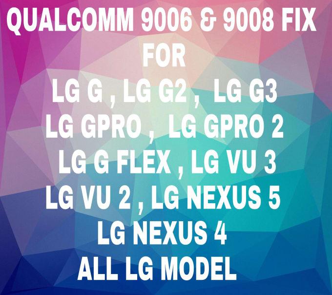 unbrick all LG Phone no download mode no recovery stuck lg logo qhsusb bulk  mode