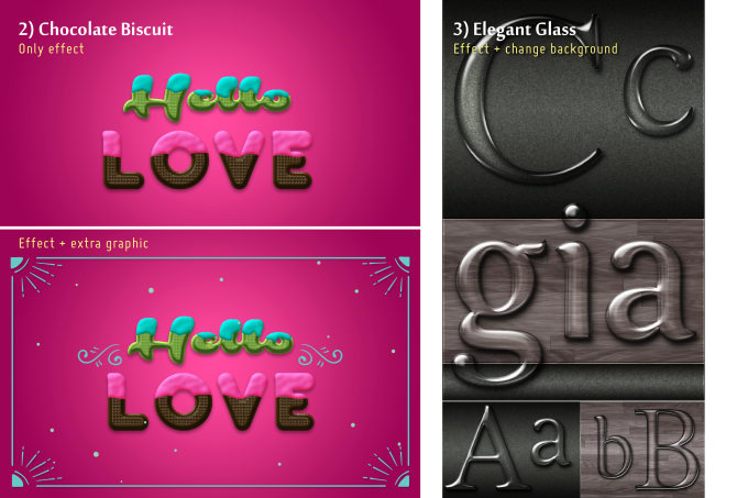 design 3d typography social media post banner ads by keerachun