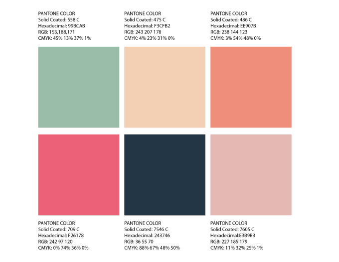 create a color palette for your projects
