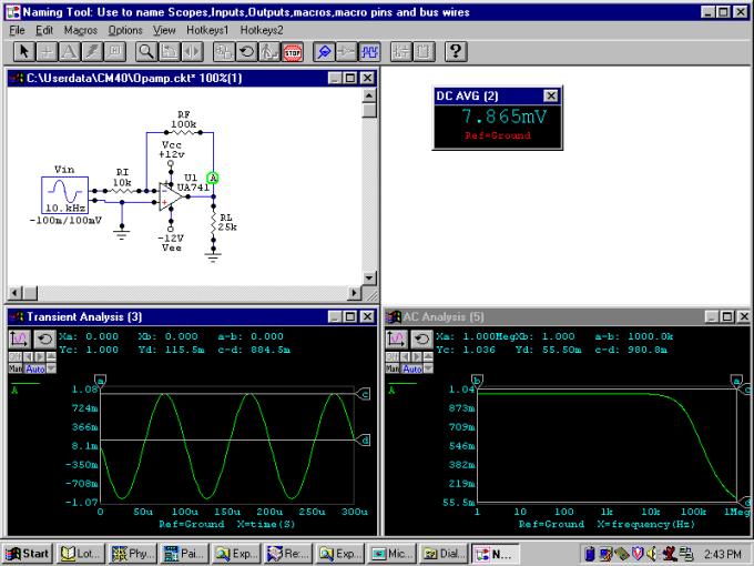 electronics circuits simulation software - 800×600