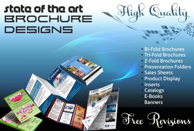 brochure product insert catalog presentation