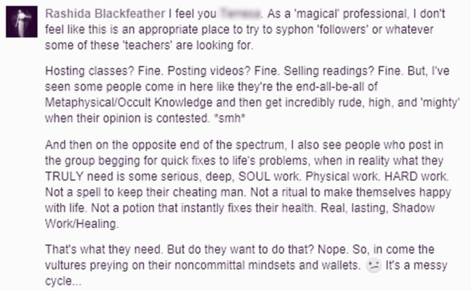 rblackfeather : I will give spiritual, metaphysical, or occult advice for  $5 on www fiverr com