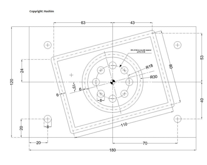 do everything professionaly in autocad