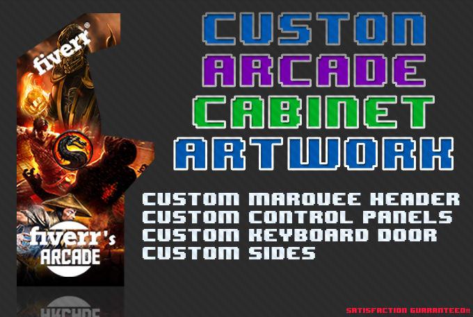 Pleasant Make A Awesome Custom Arcade Cabinet Artwork Download Free Architecture Designs Rallybritishbridgeorg
