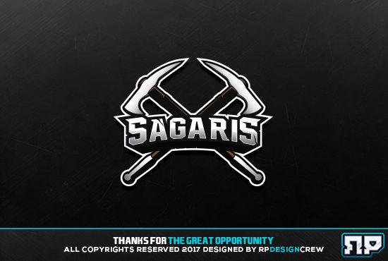 design esports sports badge logo