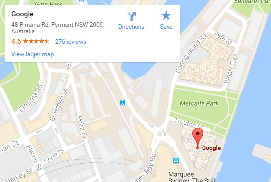 improve local business ranking with google maps embed on