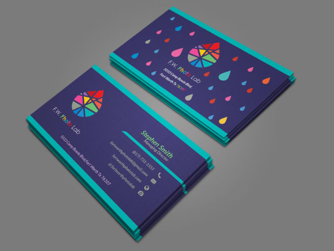 design a unique business card for you in 24 hours