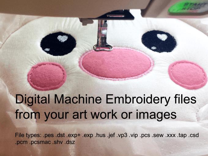 create embroidery file