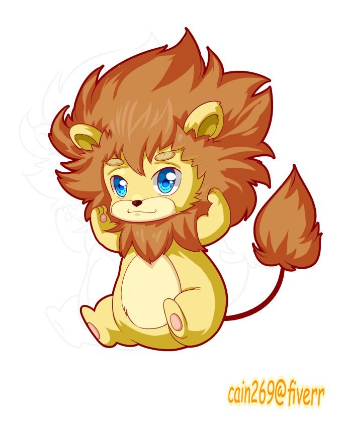Draw Chibi Of Your Pet Or Animal Character