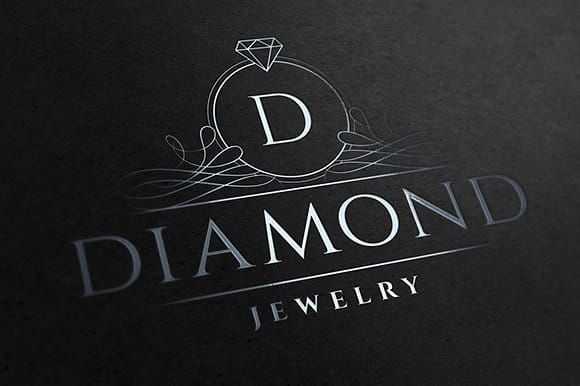 provide unique attractive jewellery logo for your business