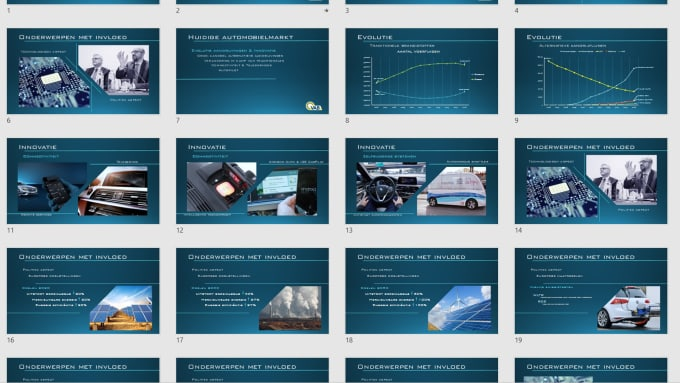 create futuristic and dynamic powerpoint presentations by