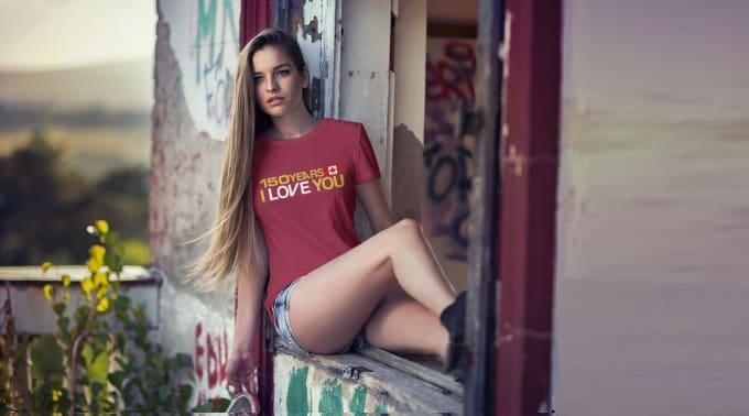 do custom tshirt design with photoshop