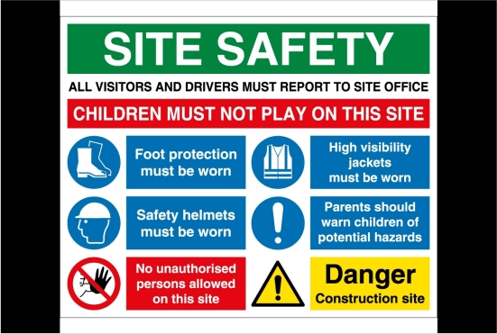 Make Your Health And Safety Signs By Mediagai