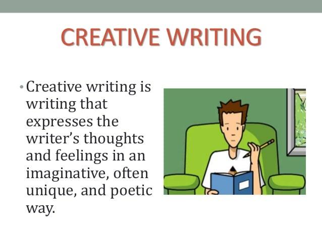 the creative writing my feelings