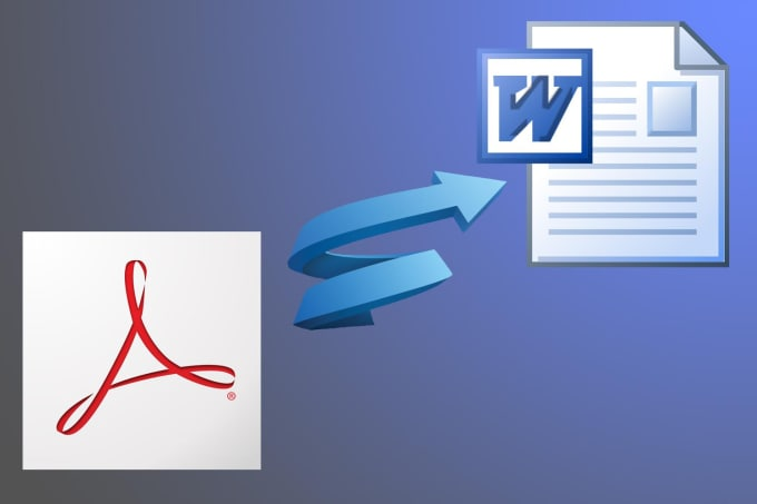 convert PDF to word professionally