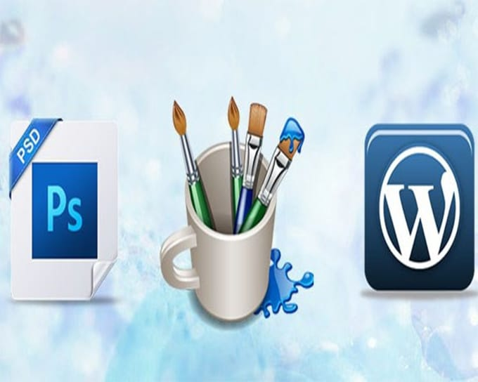 convert your psd to HTML and psd to wordpress