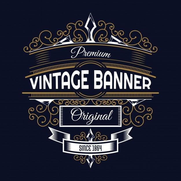Design vintage retro l...