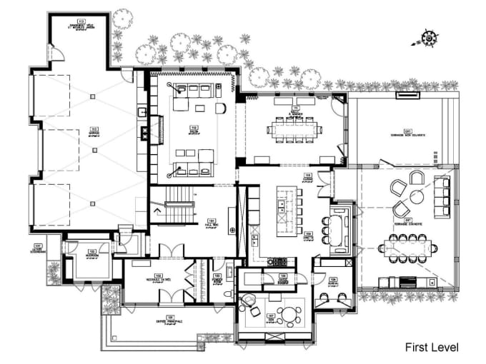 redraw your sketch or pdf by autocad, archicad, revit, sketchup