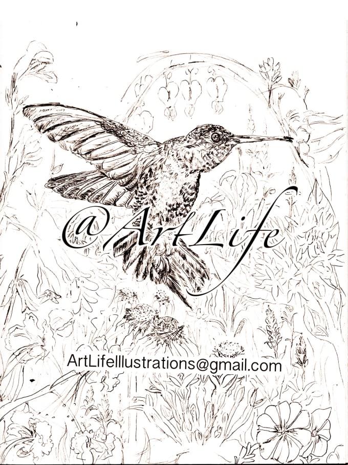 Draw Flowers Birds Or Anything Organic By Eyeesskay