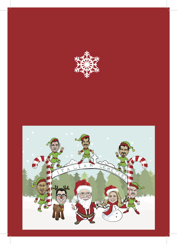 Draw amazing caricature christmas cards by Gregoryvanoy