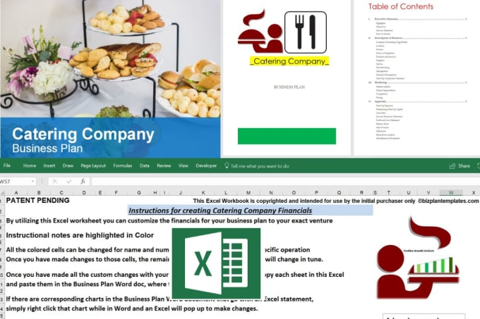 Deliver A Catering Company Business Plan Template With Example By Jssnetbay