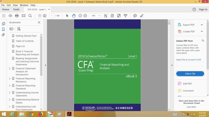 sawara2016 : I will supply all certification material of 2018 cfa,caia and  frm for $15 on www fiverr com