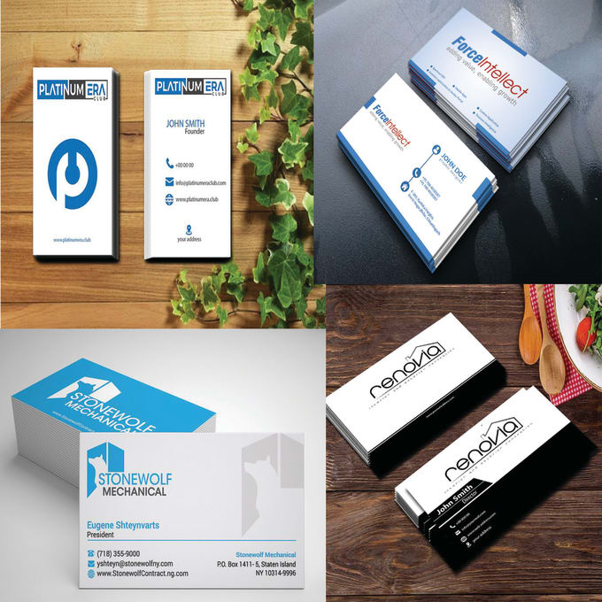 Do professional print ready business cards and stationery by munnokrek reheart Images