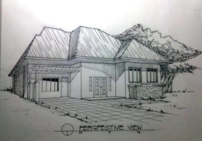 freesraf : I will draw and design your dream house or any bldg for $5 on  www fiverr com