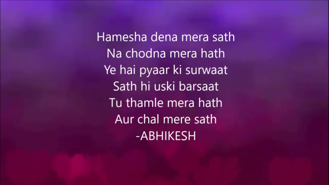 Hindi Voice Rep