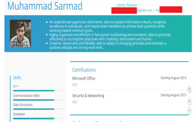 Cv, cover letter and resume writing services by Sarmadnawab