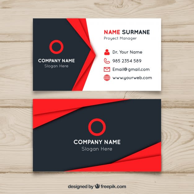 stylish and professional business cards