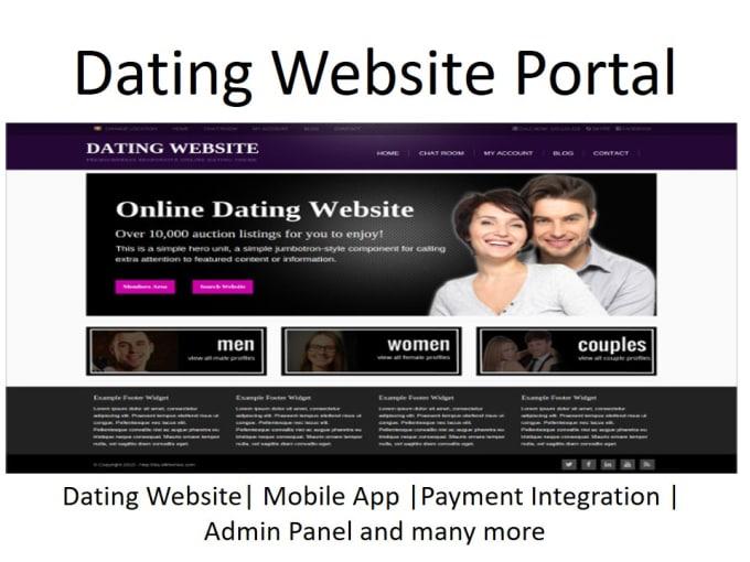 create an online dating website matchmaking en videojuegos