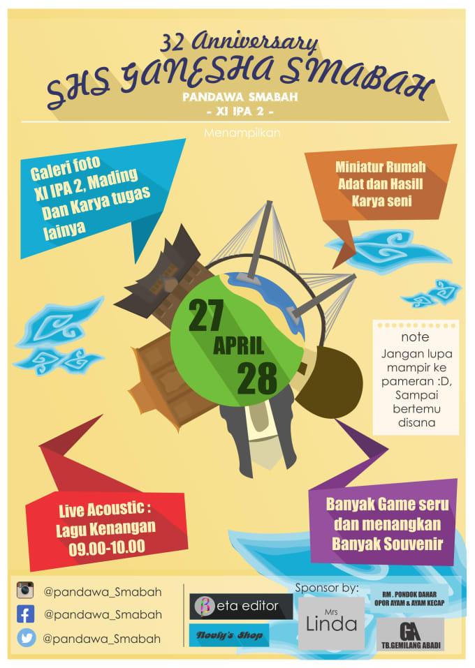 Professional Minimalist Business Poster Design By Bagasandhika
