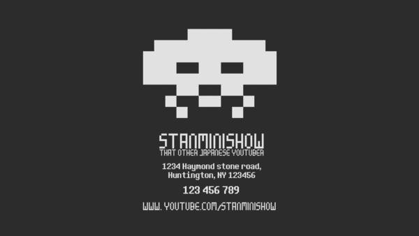 Design a high quality 8bit business card by stanminishow reheart Image collections