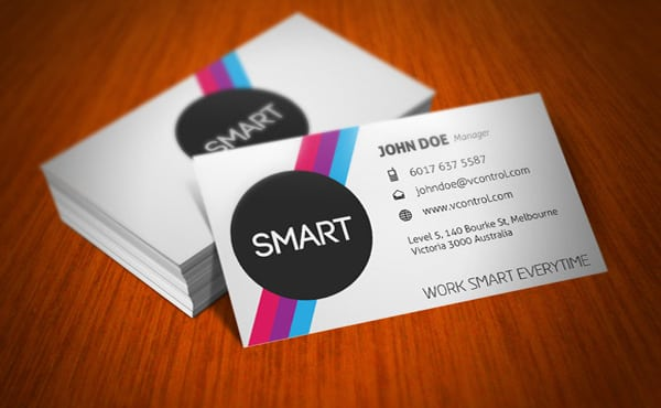 Create professional clean high quality business cards by fiversubz reheart Gallery