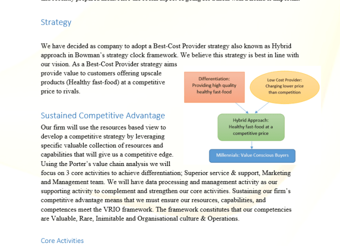 case study resource based view of competitive Strategic human resource management: case study get help from the uni tutor today we're here to help you achieve the grade you need to graduate.