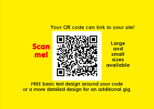 create your qr quick response code for your website blog business card or window display etc by professional_1 - Quick Response Code Business Card