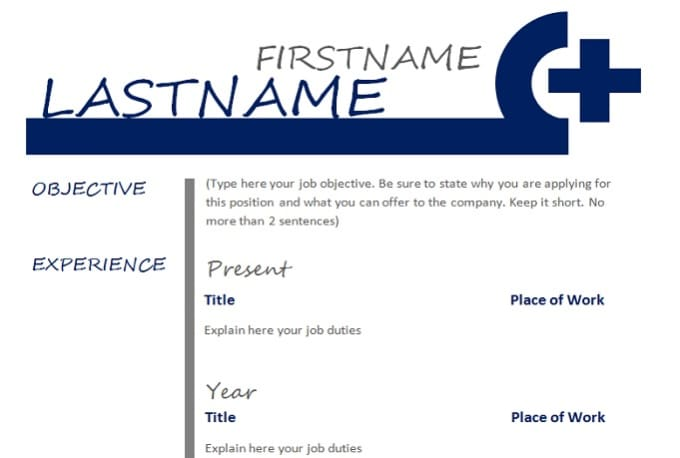 Give you 10 premium resume templates and