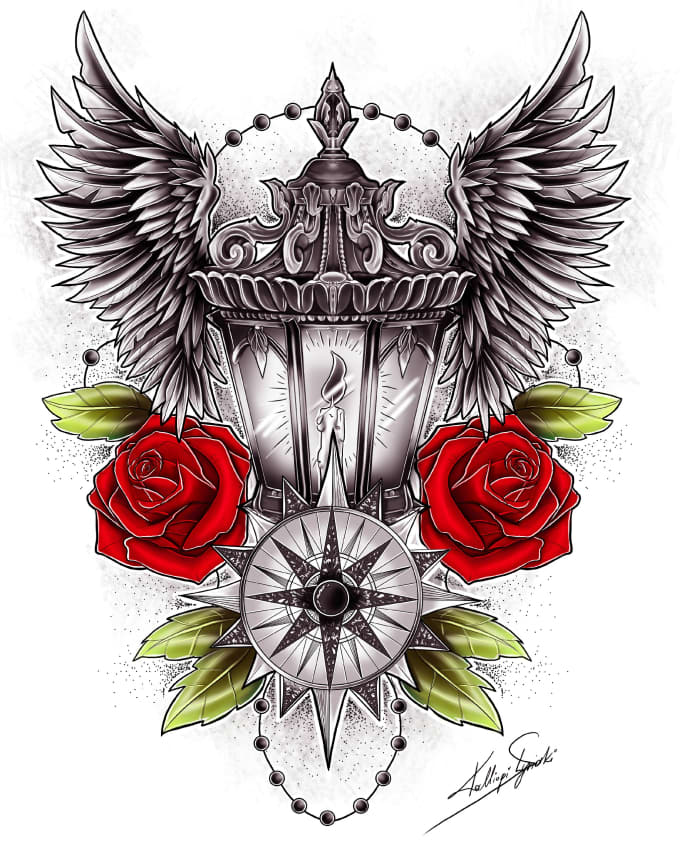 Start Your Tattoo Design: Create Your Perfect Unique Tattoo Design By Klsketches